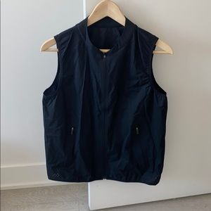 Lululemon sheer black vest